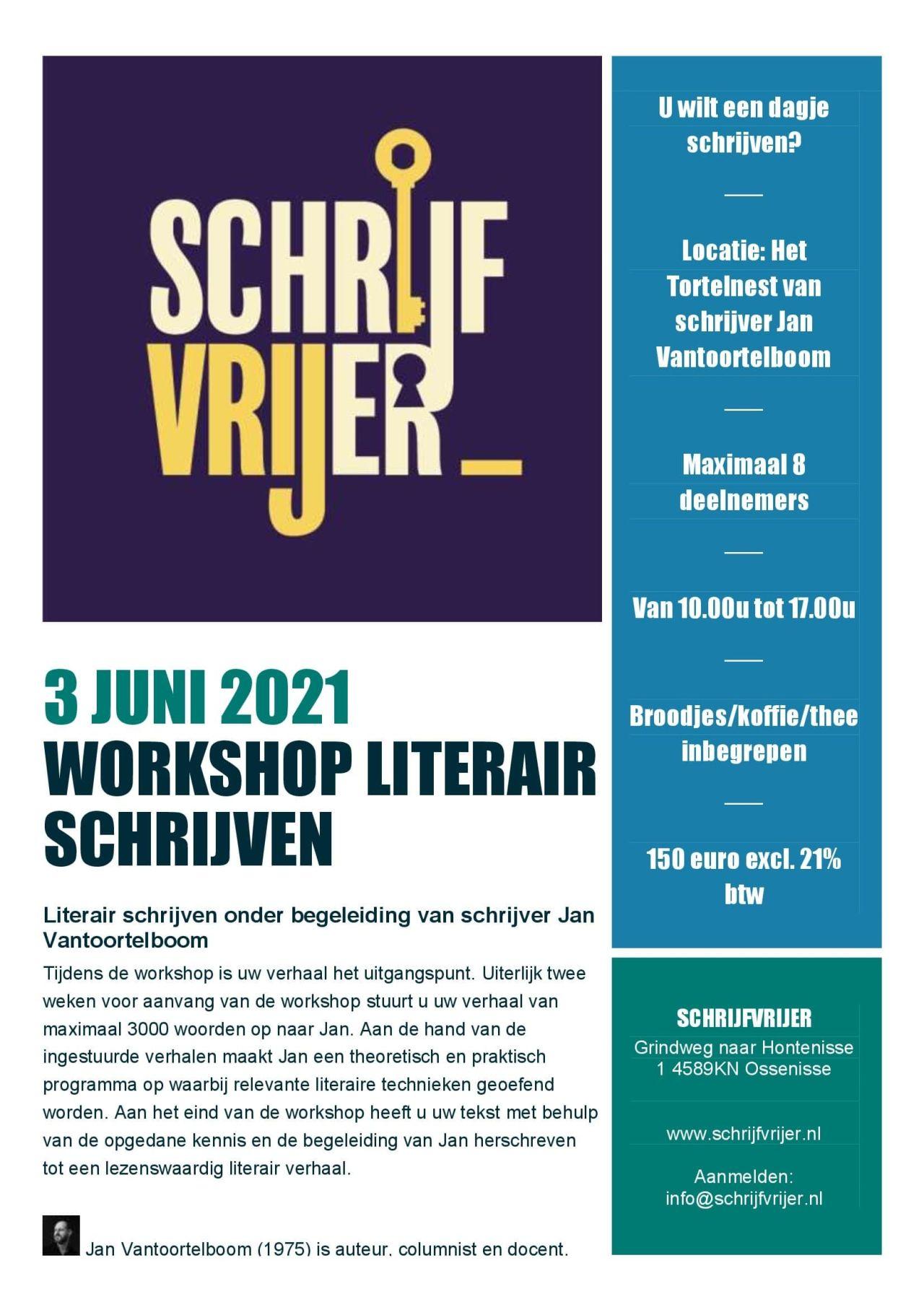 Workshop Literair Schrijven