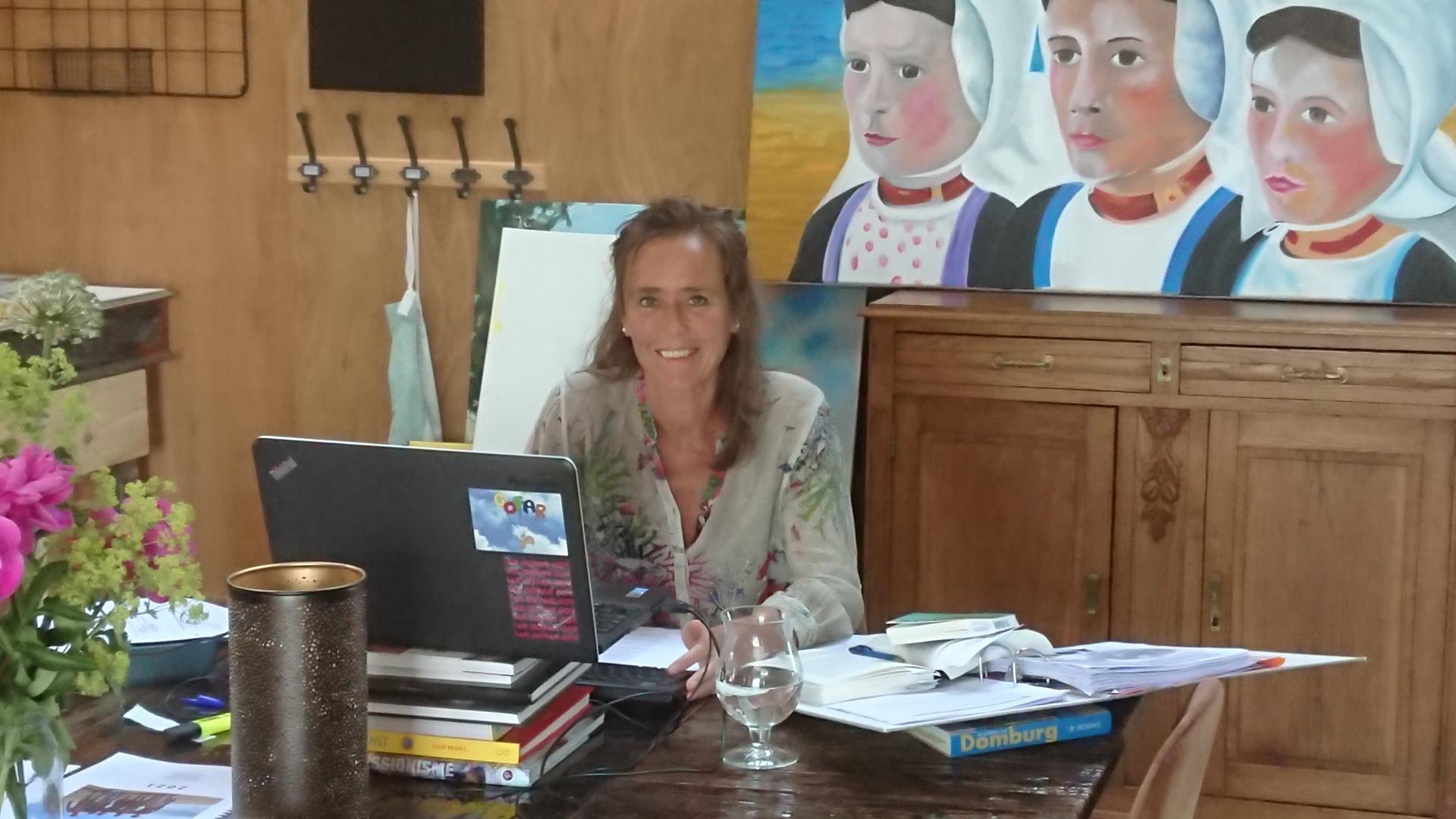 Schrijfster en vertaalster Elisa Candela in het Tortelnest